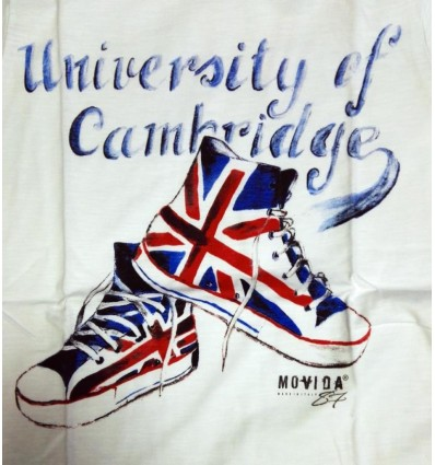 T-shirt donna University of Cambridge