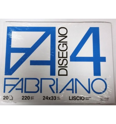 Album Fabriano 4 24x33 Liscio 220 g/m²