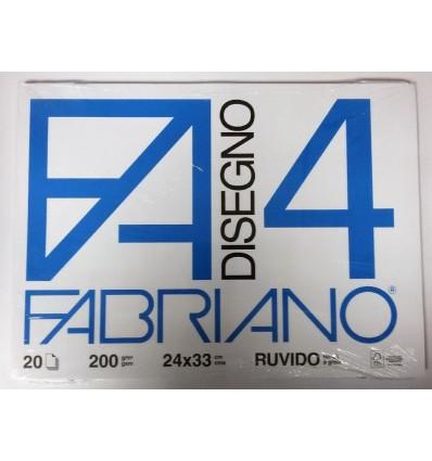 Album Fabriano 4 24x33 Ruvido 220 g/m²